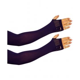 Mo0955 Purple Nylon Arm Sleeve - 1 Pair