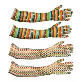 Dust Multicolour Cotton Printed Arm Sleeve