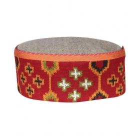 Multicolour Prnited Cotton Himachali Cap - Pack Of 1