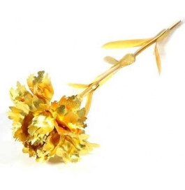 24kt Gold Foil Carnation Flower