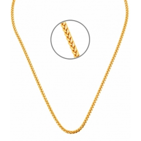 Braided Men's Chain By Goldnera+