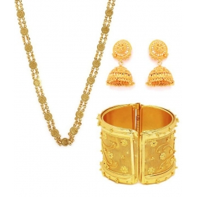 Gold Plated Affordable Jewellery Combo