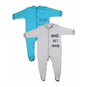Pack Of 2 Infants Sleep Suit