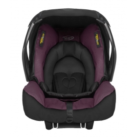 Evo Snugsafe Car Seat - Plum