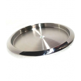 Round Stainless Steel Bar Tray 1 Pcs