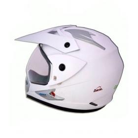 Green Stone Moto-x Plane Bluetooth - Full Face Helmet White L