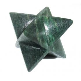 Green Kyanite Merkaba Star Large Crystal Sacred Geometry Reiki Point 8 Healing