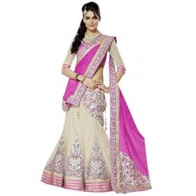 Designs Pink Silk Lehenga