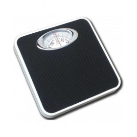 Iron Analog Personal Weighing Scale - Black