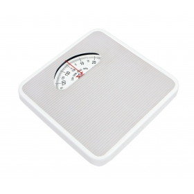 Large Surface Iron Analog Personal Weighing Scale Grey
