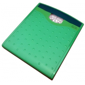 Long Surface Analog Personal Weighing Scale Green