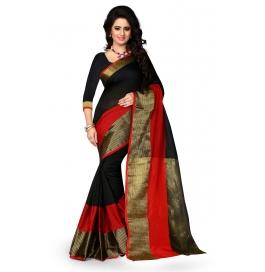 Haka Black Saree
