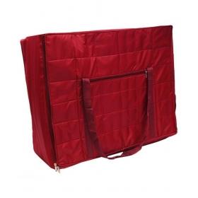 Canvas Maroon Storage Bag & Trunk