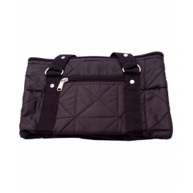 Super Specious Luggage Bag Canvas Black Storage Bag & Trunk