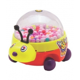 Happy Beetle Push & Pull Along Toys (multicolor)