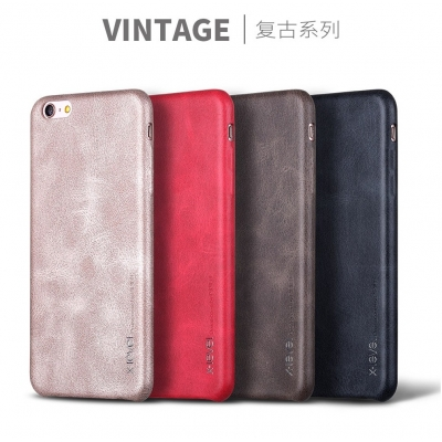 Vintage Leather Case Premium Quality For Apple Iphone 6-6plus-6s-6splus