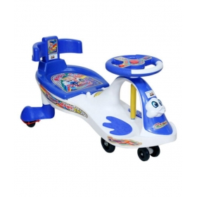 Baby Magic Car 7811 (with Back Support) White