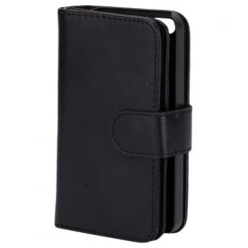 Glam 4 Gadgets Wallet Case For Apple Iphone 5s - Black