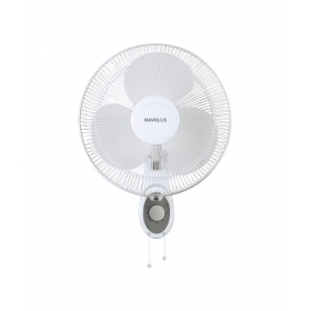 Havells 400 Mm Swing Platina Wall Fan White
