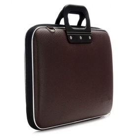 Brown Pu Leather Laptop Bag