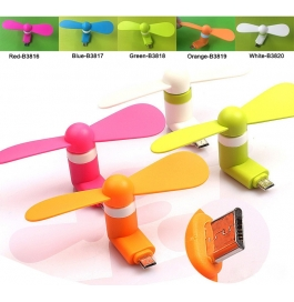Portable Mini USB Fan For Android Phones..