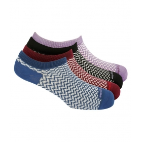 Women's Fashion Liner Length Soft Cotton Socks Pack Of 4 Pair