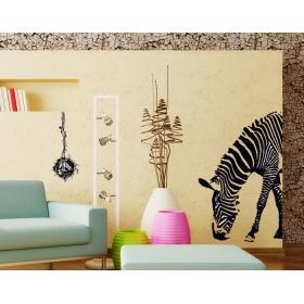 Ay9030 Giraffe Nature Wall Sticker  Jaamso Royals