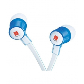 Iball Auricb9 Univo Ear Buds Wired Earphones Without Mic White