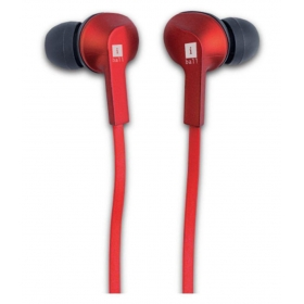 Iball Musigriper B9 On Ear Headset With Mic Red