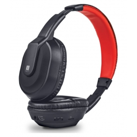 Iball Iball Musi Tap Over Ear Headset With Mic Black