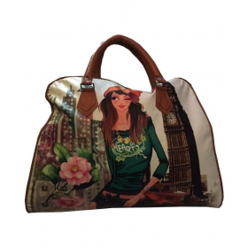 Jewellery Fabric Multi Color Shopping Bag