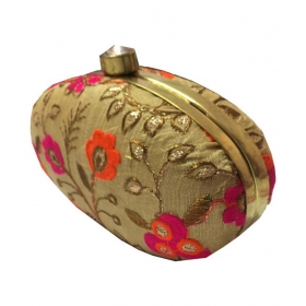 Jewellery Multi Silk Box Clutch