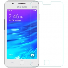 Imago Premium Quality Origional 0.3 Mm  Tempered Glass Toughen Glass Pro Hd+ Screen Protector For Samsung Galaxy Z1