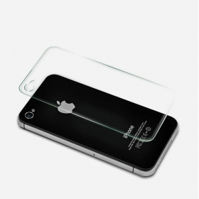 Imago Premium Quality Origional 0.3 Mm  Tempered Glass Toughen Glass Pro Hd+ Screen Protector Forapple Iphone 4g Back