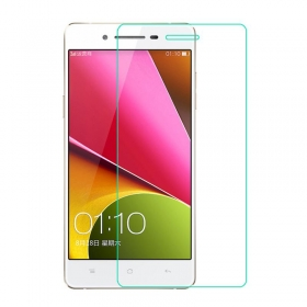 Imago Premium Quality Origional 0.3 Mm  Tempered Glass Toughen Glass Pro Hd+ Screen Protector For Oppo R7