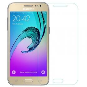 Imago Premium Quality Origional 0.3 Mm  Tempered Glass Toughen Glass Pro Hd+ Screen Protector For Samsung Galaxy J2 (2016)