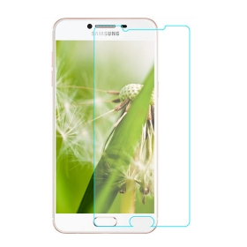Imago Premium Quality Origional 0.3 Mm  Tempered Glass Toughen Glass Pro Hd+ Screen Protector For Samsung Galaxy C7