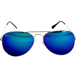 Sunglasses Aviator multi color Goggles with leather Cover