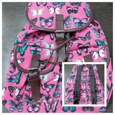 Girls Collage Bag