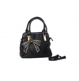 Knight Vogue Hand Bag Black