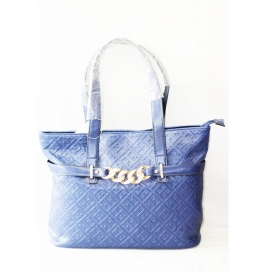 Ladies Shoulder Bag Blue Krishna