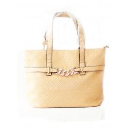 Ladies Shoulder Bag Cream Krishna