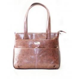 Falunt Ladies Shoulder Bag Brown