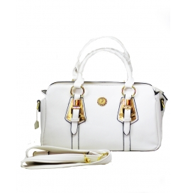 Ladies Shoulder Bag White