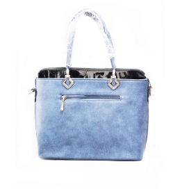Famiga Ladies Shoulder Bag Blue