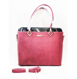 Famiga Ladies Shoulder Bag Pink