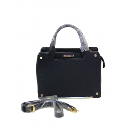 Famiga Ladies Hand Bag Black