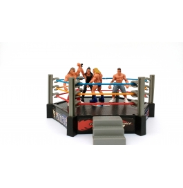 wwe action figure with wwe ring
