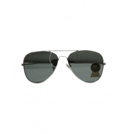 Cruze Aviator Flat Aviator Sunglasses  ( Black)