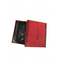 Bovis Black & Brownimported Fancy Wallet